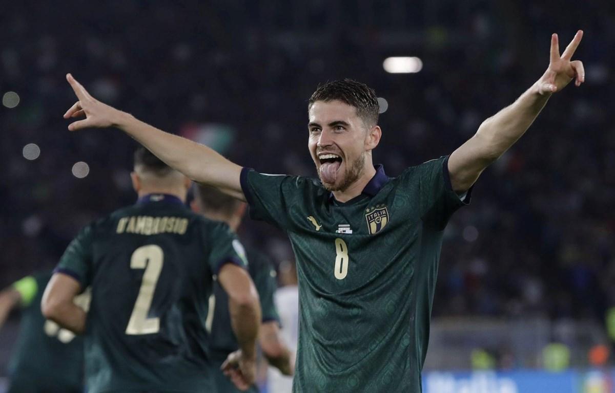 Italy giành vé dự vòng chung kết Euro 2020. (Nguồn: AP)