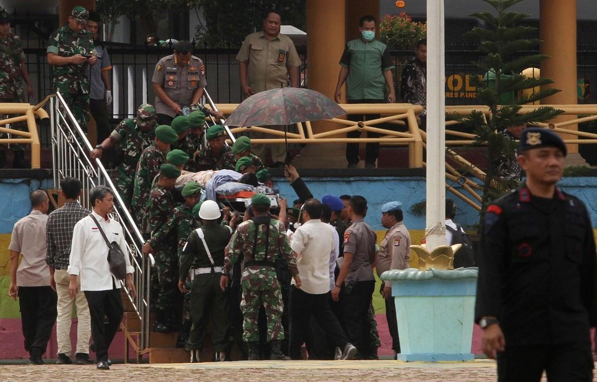 Vụ bắt giữ diễn ra chỉ vài ngày sau vụ tấn công bằng dao nhằm vào Bộ trưởng An ninh Indonesia Wiranto. (Nguồn: AFP)
