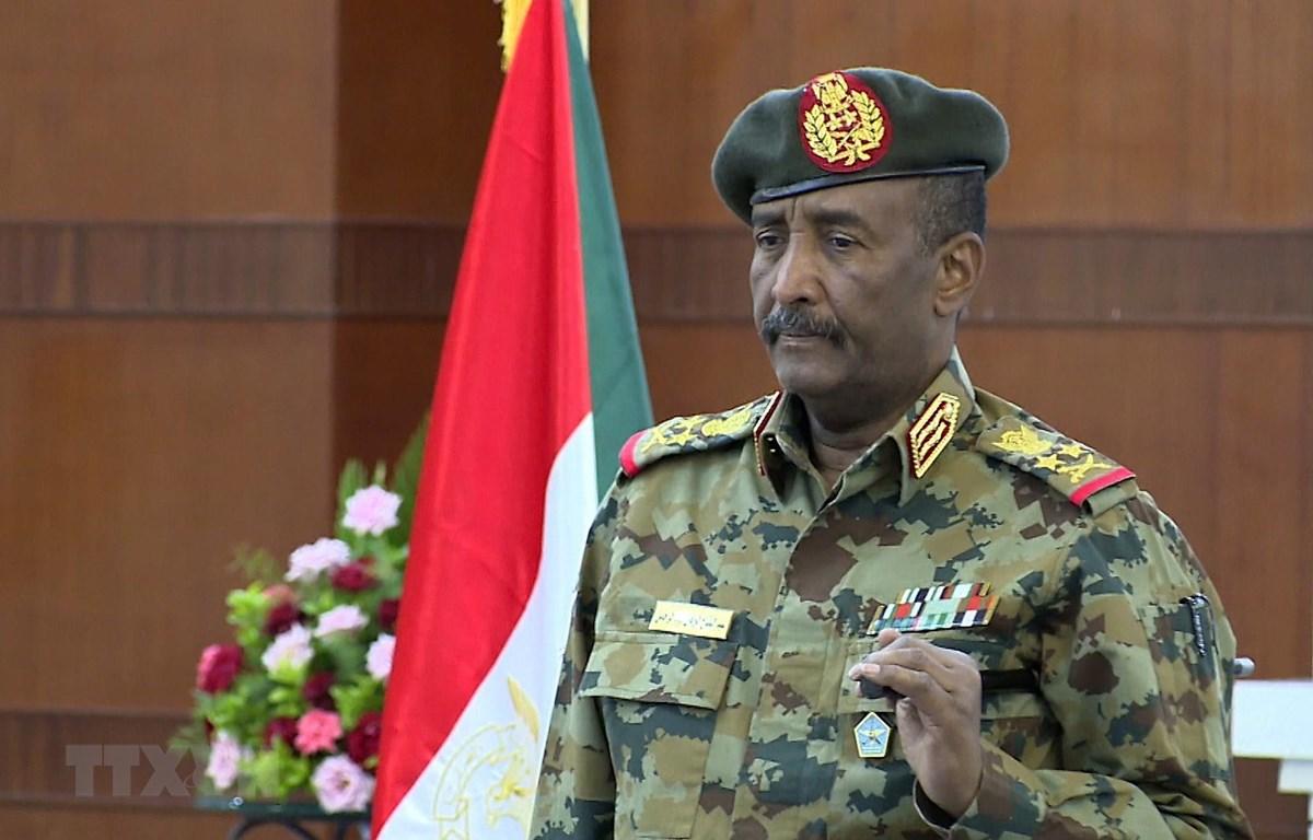 Chủ tịch Hội đồng chủ quyền Sudan Abdel-Fattah Al-Burhan. (Ảnh: AFP/TTXVN)