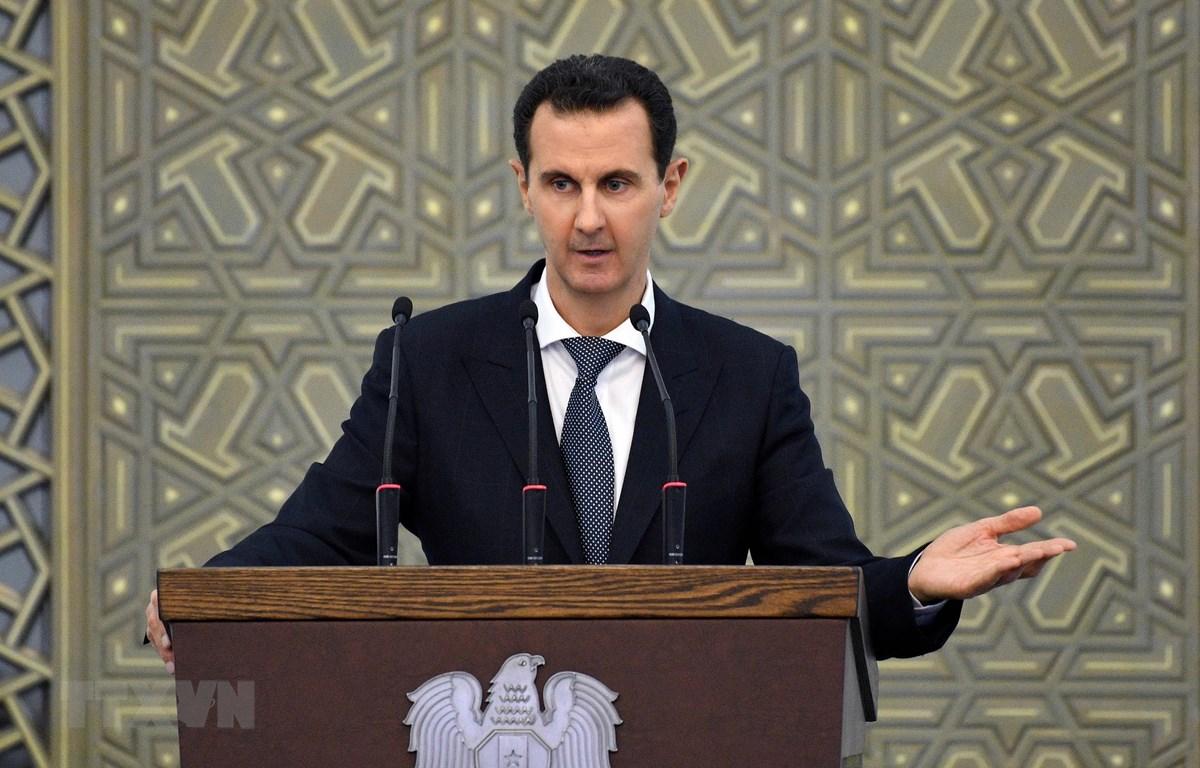 Tổng thống Syria Bashar al-Assad. (Ảnh: AFP/TTXVN)