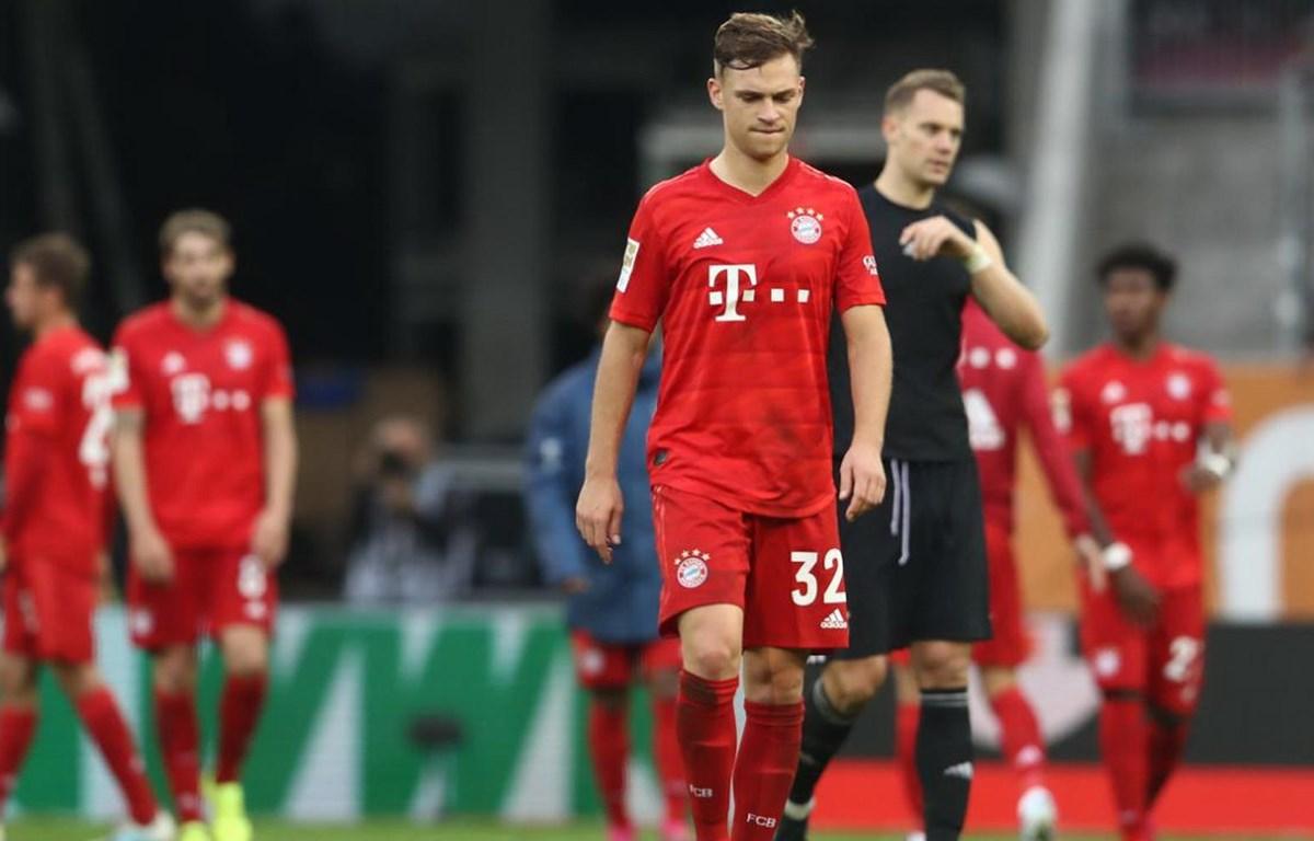 Bayern chỉ giành được trận hòa khi đối đầu Augsburg. (Nguồn: Bild)