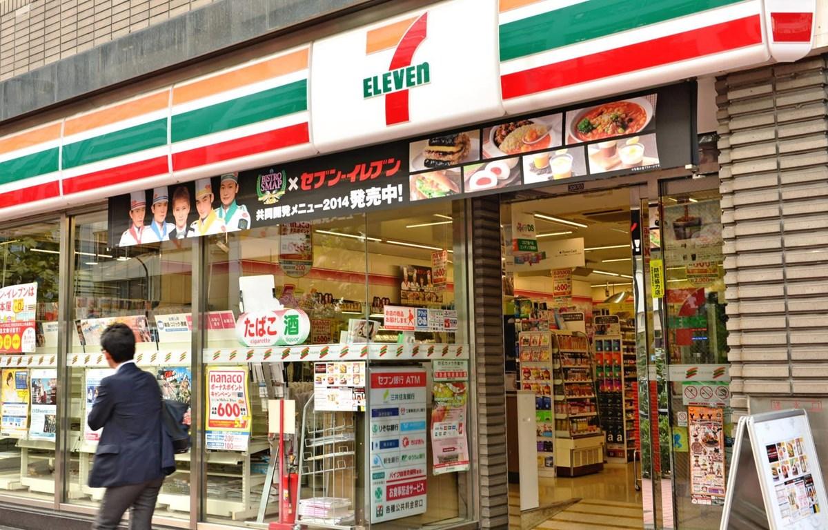 Seven-Eleven Nhật Bản giảm giờ mở cửa. (Nguồn: nikkei)