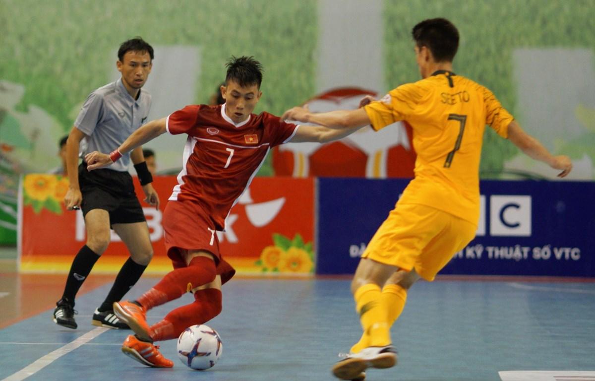 Việt Nam đánh bại Australia tại giải Futsal Đông Nam Á 2019.