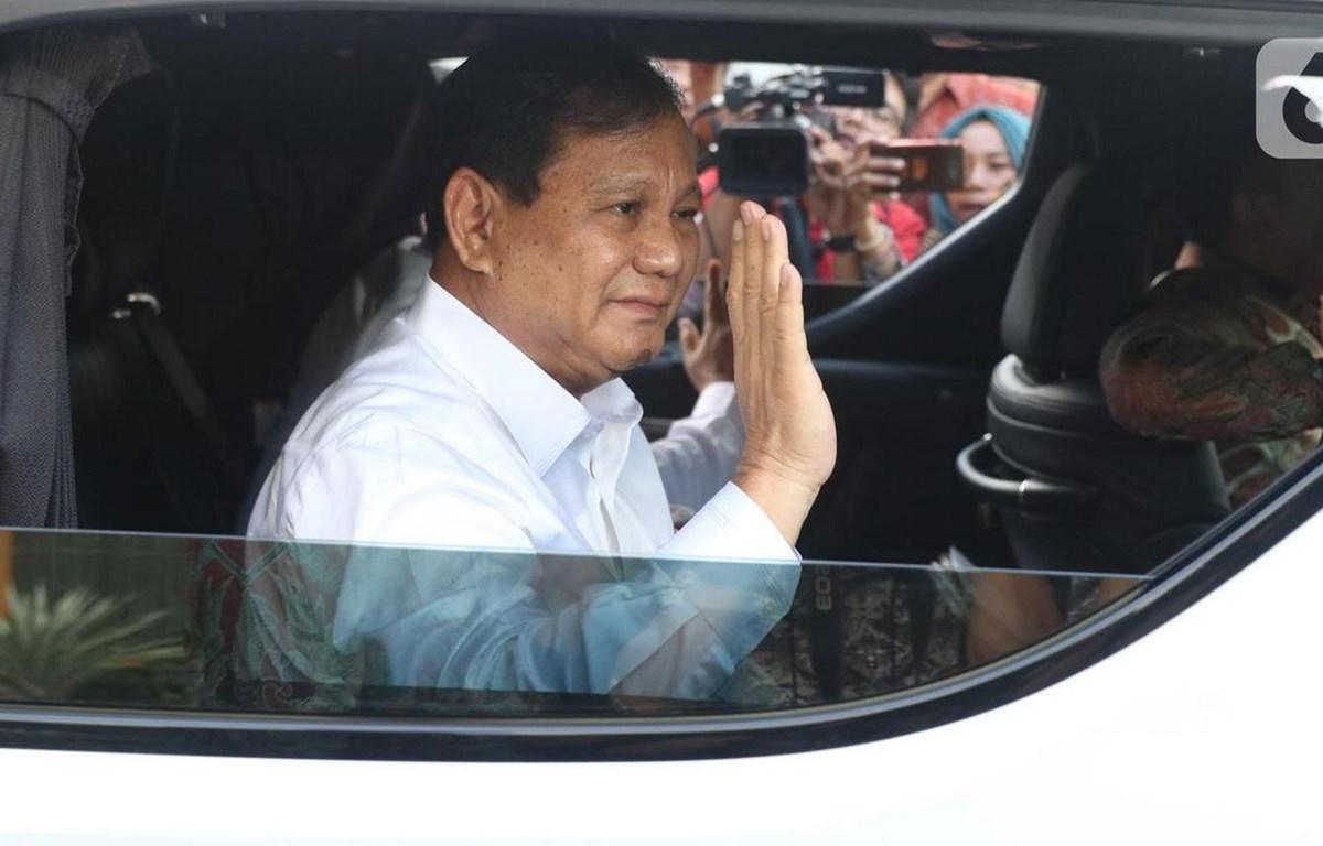 Ông Prabowo Subianto được chỉ định giữ chức Bộ trưởng Quốc phòng. (Nguồn: liputan6)