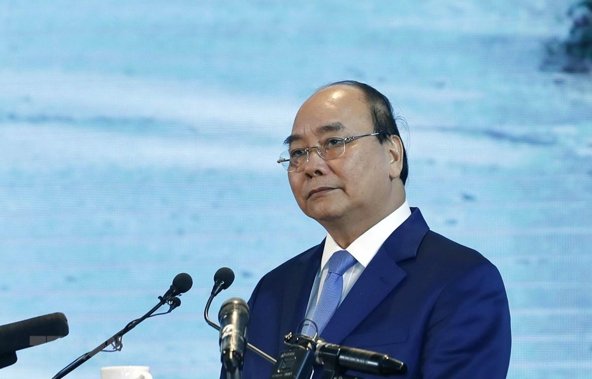 Thủ tướng Nguyễn Xuân Phúc. (Ảnh: Thống Nhất/TTXVB)