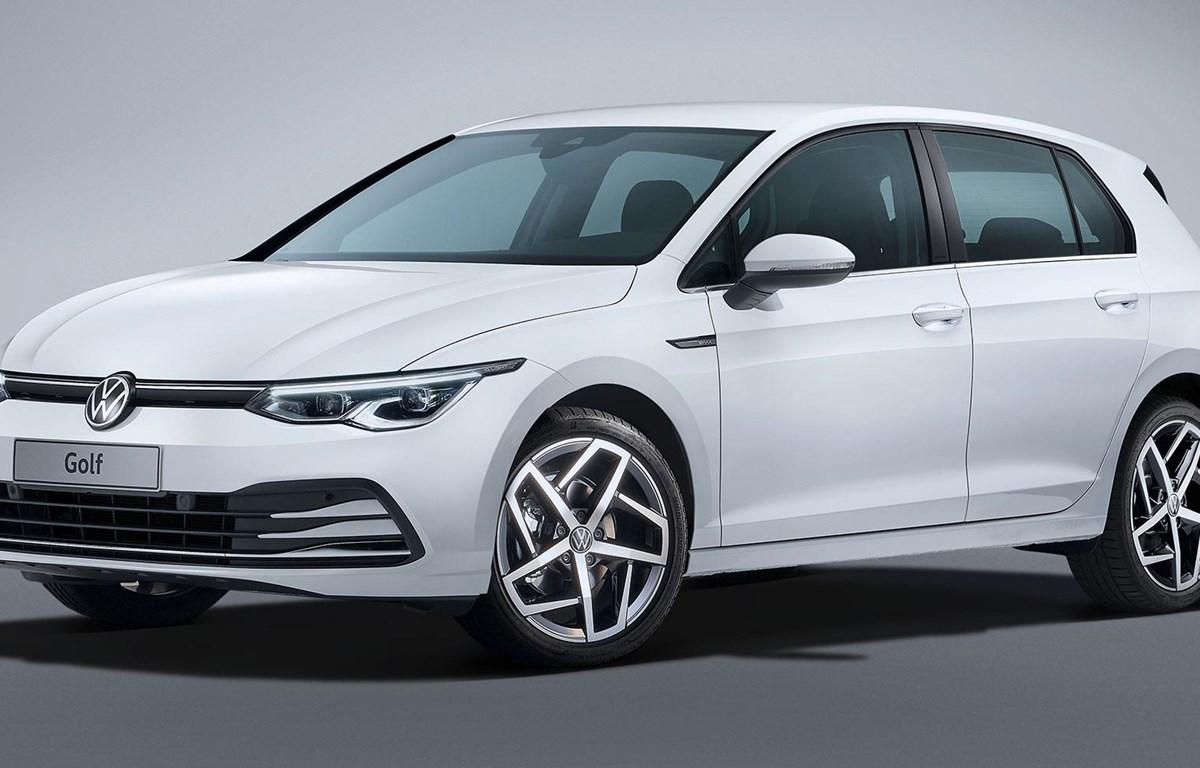 Volkswagen chuẩn bị giới thiệu phiên bản mới nhất của mẫu xe Golf. (Nguồn: carscoops)