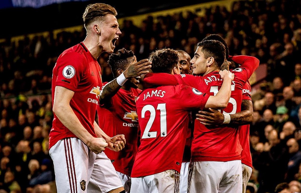 M.U giành trọn 3 điểm tại Carrow Road. (Nguồn: Getty Images)