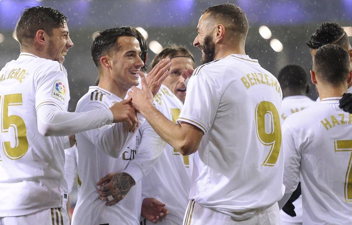 Real Madrid thắng 4-0 trước Eibar. (Nguồn: Getty Images)