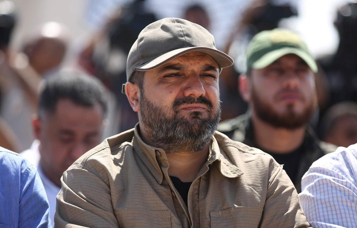 Thủ lĩnh cấp cao của nhóm Hồi giáo Jihad Baha Abu Al-Ata. (Nguồn: Getty Images)