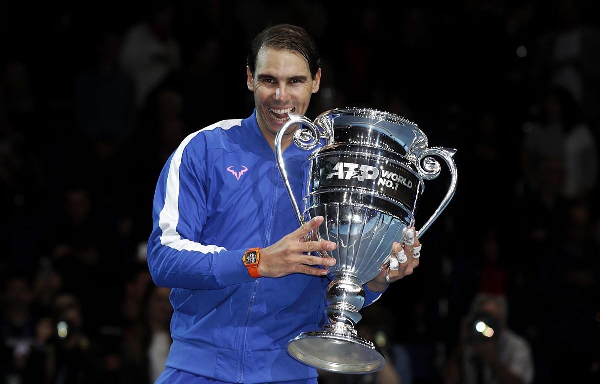 Rafael Nadal kết thúc năm 2019 ở ngôi số 1. (Nguồn: Getty Images)
