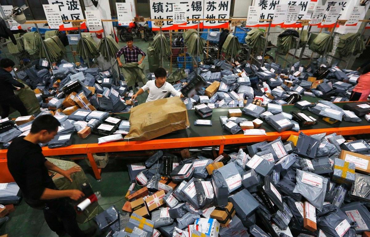 Lễ hội mua sắm hàng năm của Trung Quốc nhân Ngày Độc thân (11/11) đã chứng kiến một loạt kỷ lục. (Nguồn: FT)