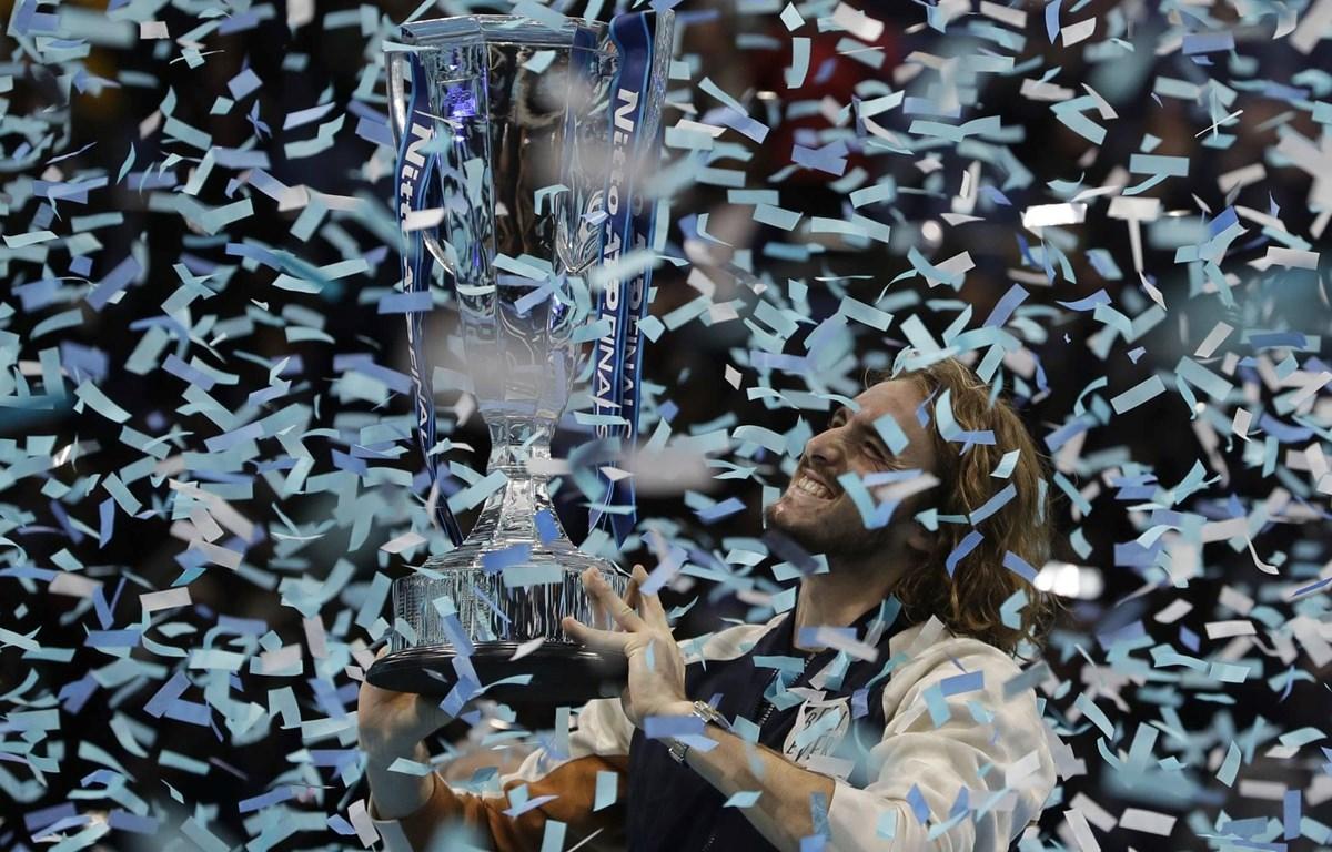 Stefanos Tsitsipas vô địch ATP Finals 2019. (Nguồn: AP)