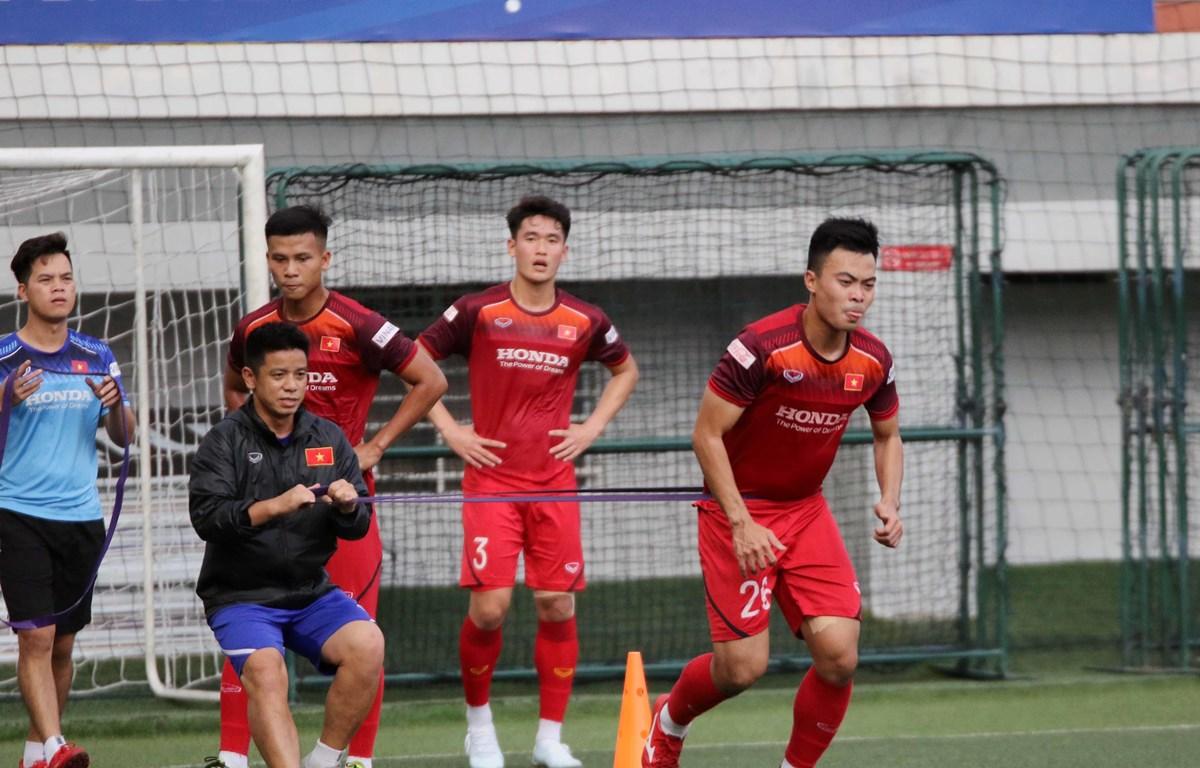 U22 Việt Nam quyết giành huy chương vàng SEA Games 30. (Nguồn: VFF)