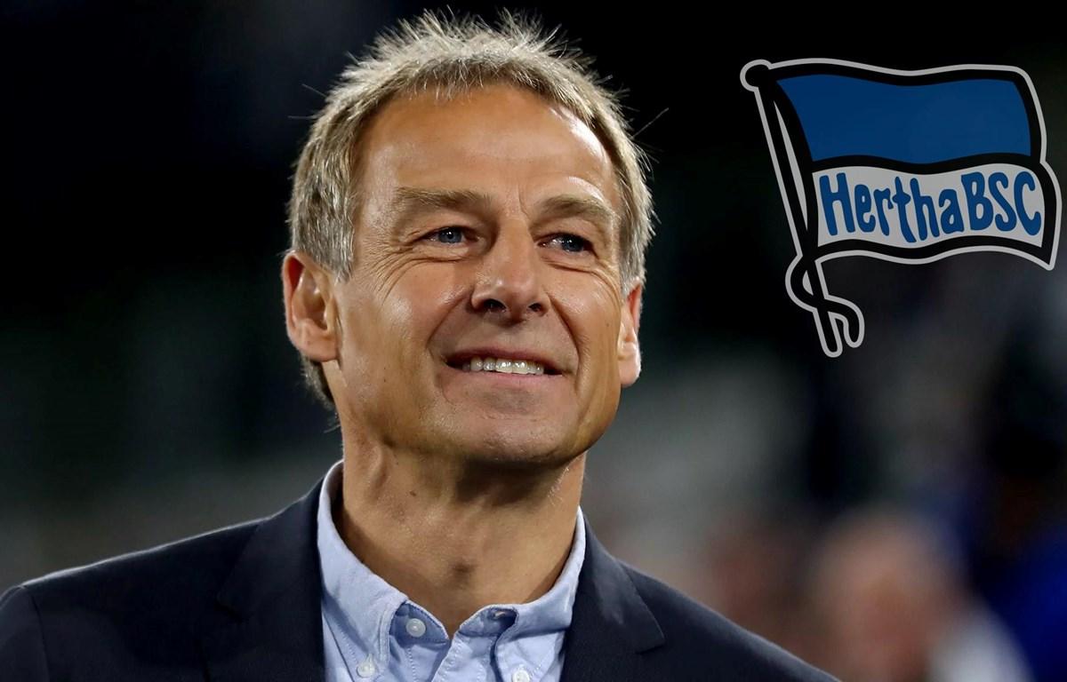 Huyền thoại bóng đá Đức Jürgen Klinsmann làm HLV của Hertha Berlin