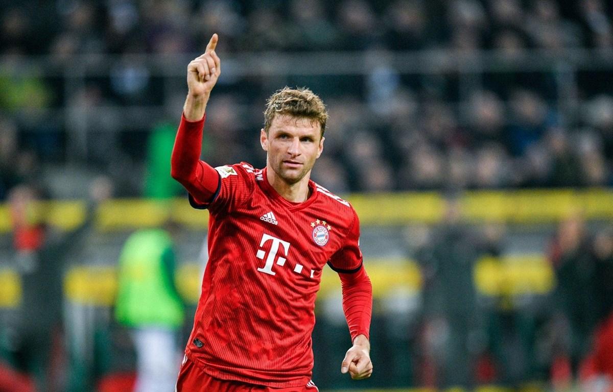 Thomas Mueller nhận Huân chương của bang Bayern. (Nguồn: Getty Images)