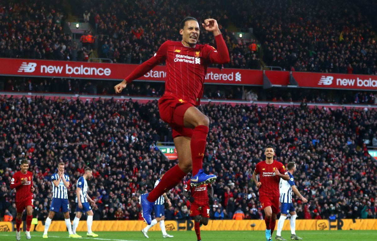 Virgil Van Dijk mang chiến thắng về cho Liverpool. (Nguồn: AP)