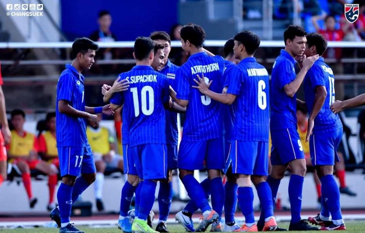 U22 Thái Lan sẽ phải quyết đầu U22 Việt Nam ở lượt trận cuối. (Nguồn: FAT)
