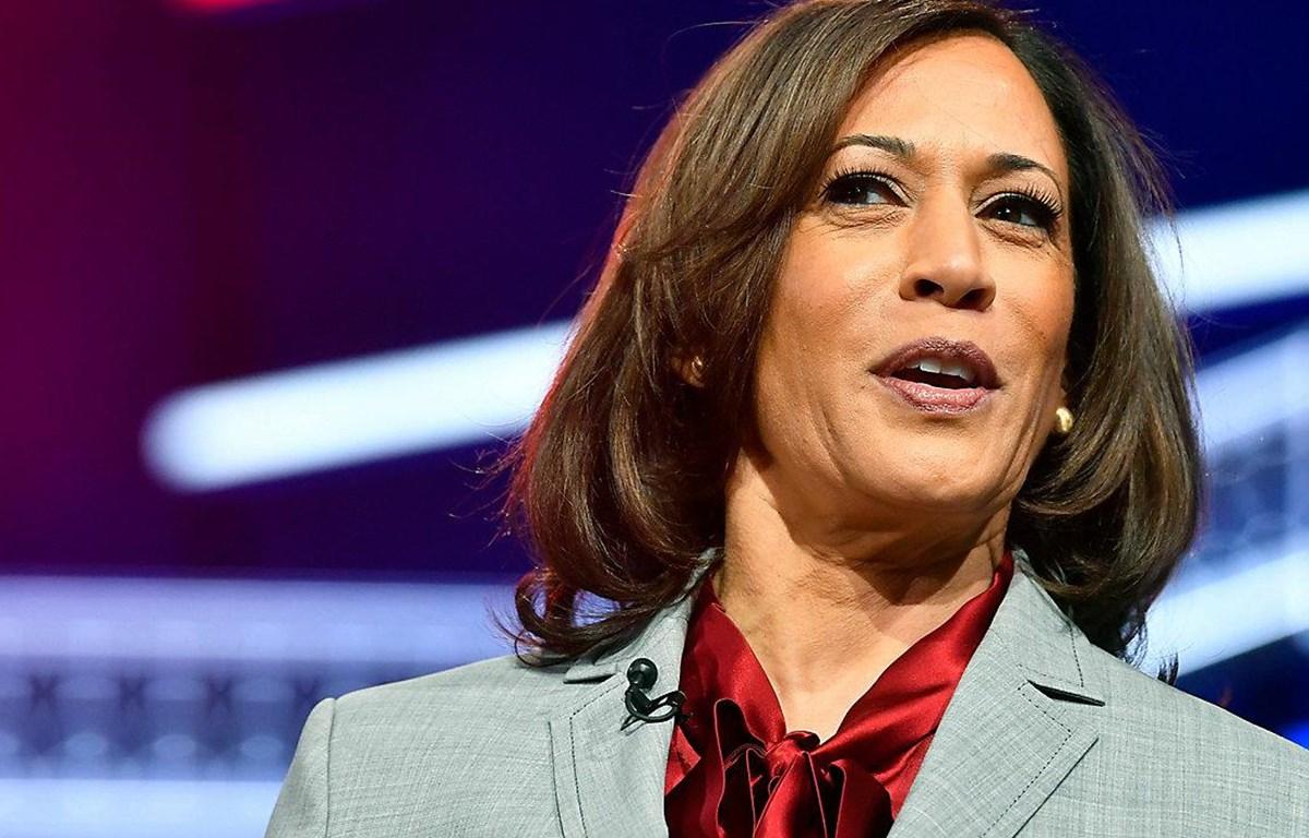 Bà Kamala Harris tuyên bối rút khỏi cuộc tranh cử. (Nguồn: AP)