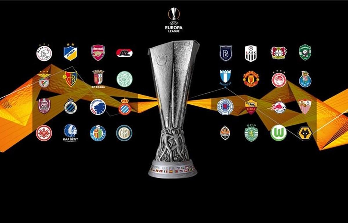 32 đội góp mặt ở vòng 1/16 Europa League. (Nguồn: UEFA)
