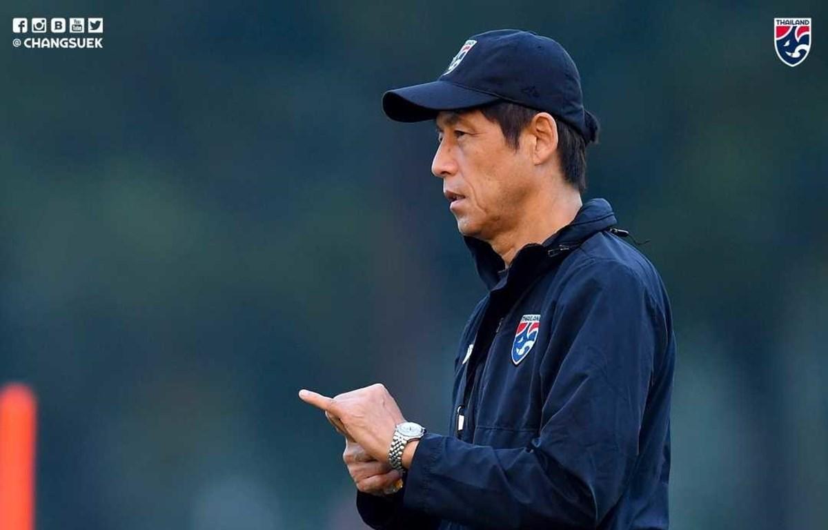 HLV Akira Nishino của U23 Thái Lan. (Nguồn: FAT)