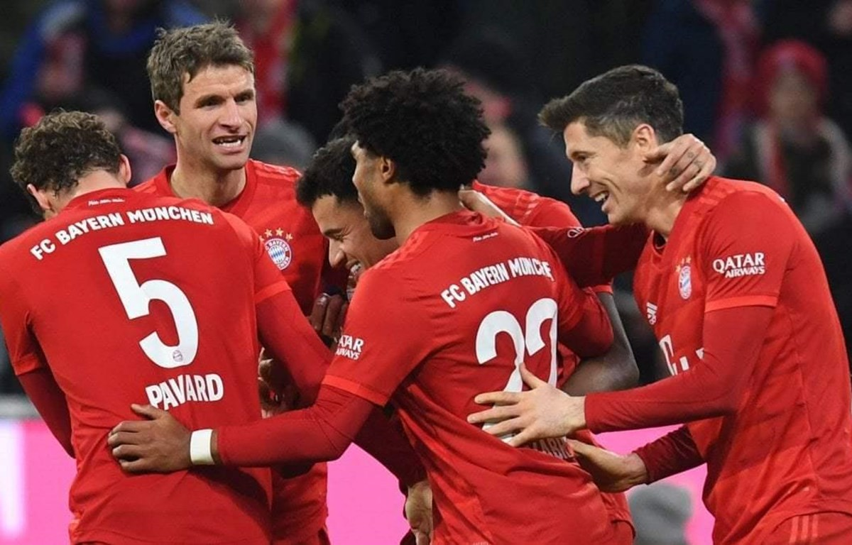 Bayern thắng hủy diệt trong ngày Coutinho rực sáng. (Nguồn: AP)