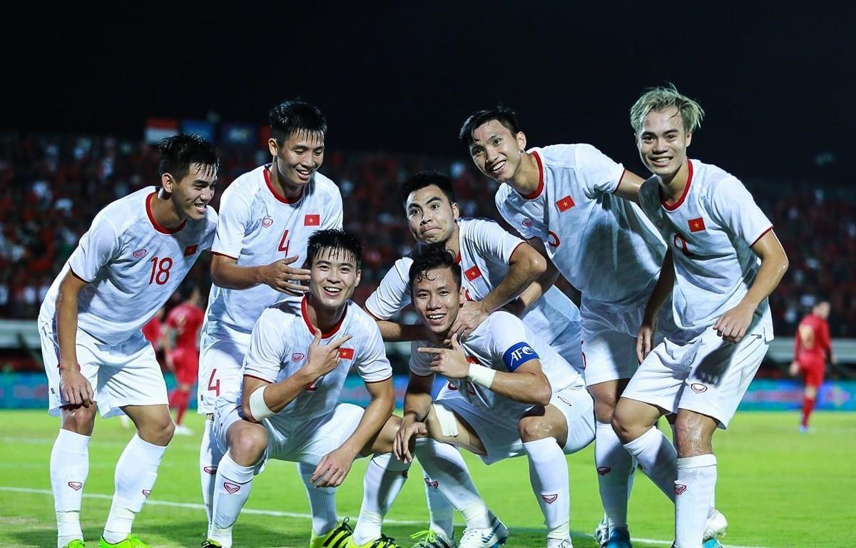 Đội tuyển Việt Nam kết thúc năm 2019 ở ngôi số 1 Đông Nam Á. (Ảnh: Vietnam+)