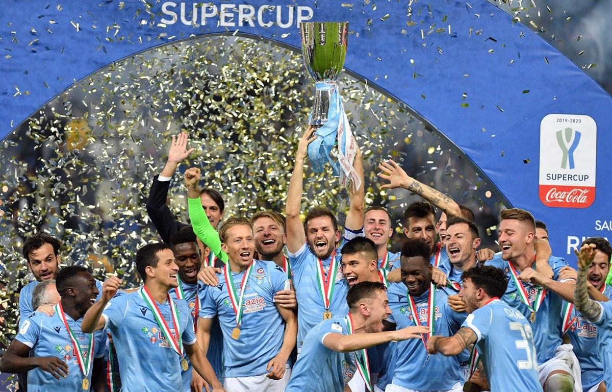 Lazio giành Siêu cúp Italy. (Nguồn: Getty Images)