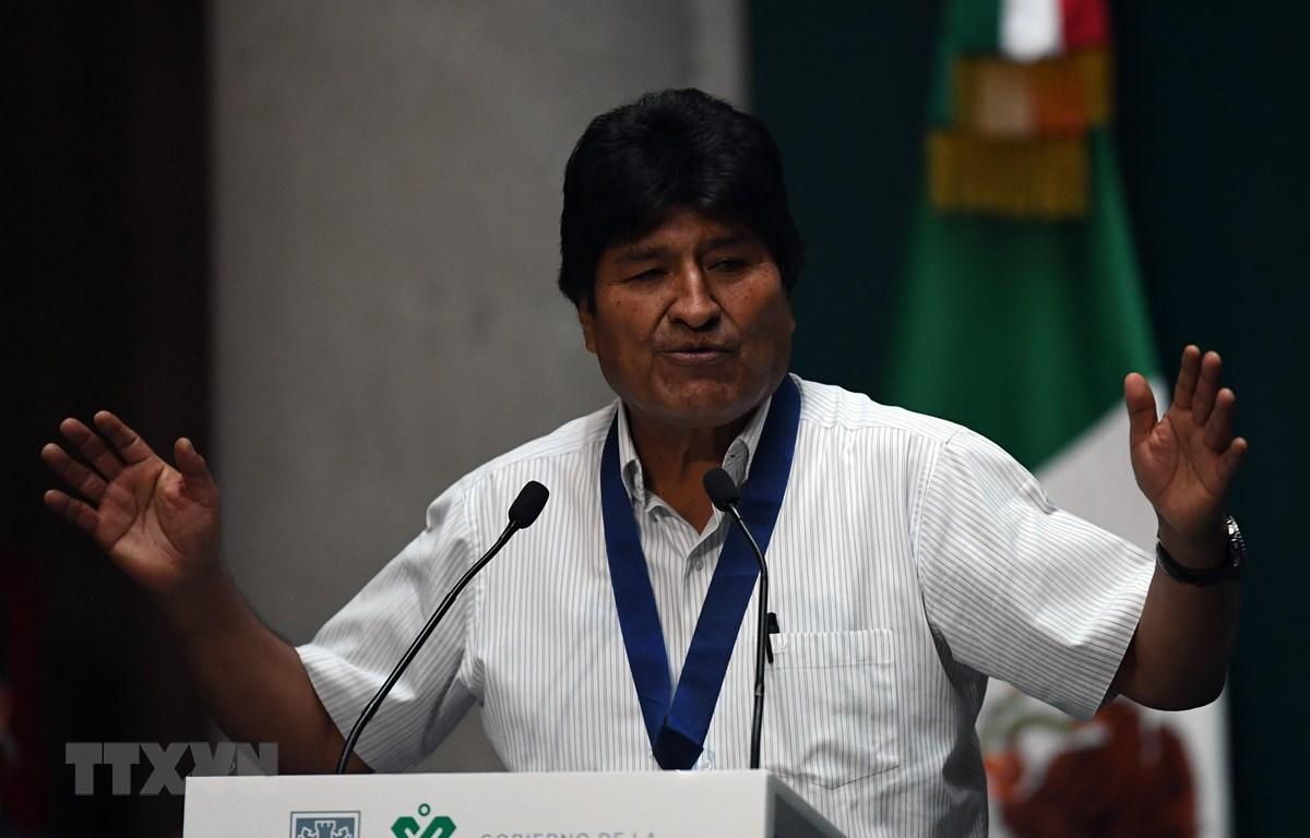Cựu Tổng thống Bolivia Evo Morales. (Ảnh: AFP/TTXVN)
