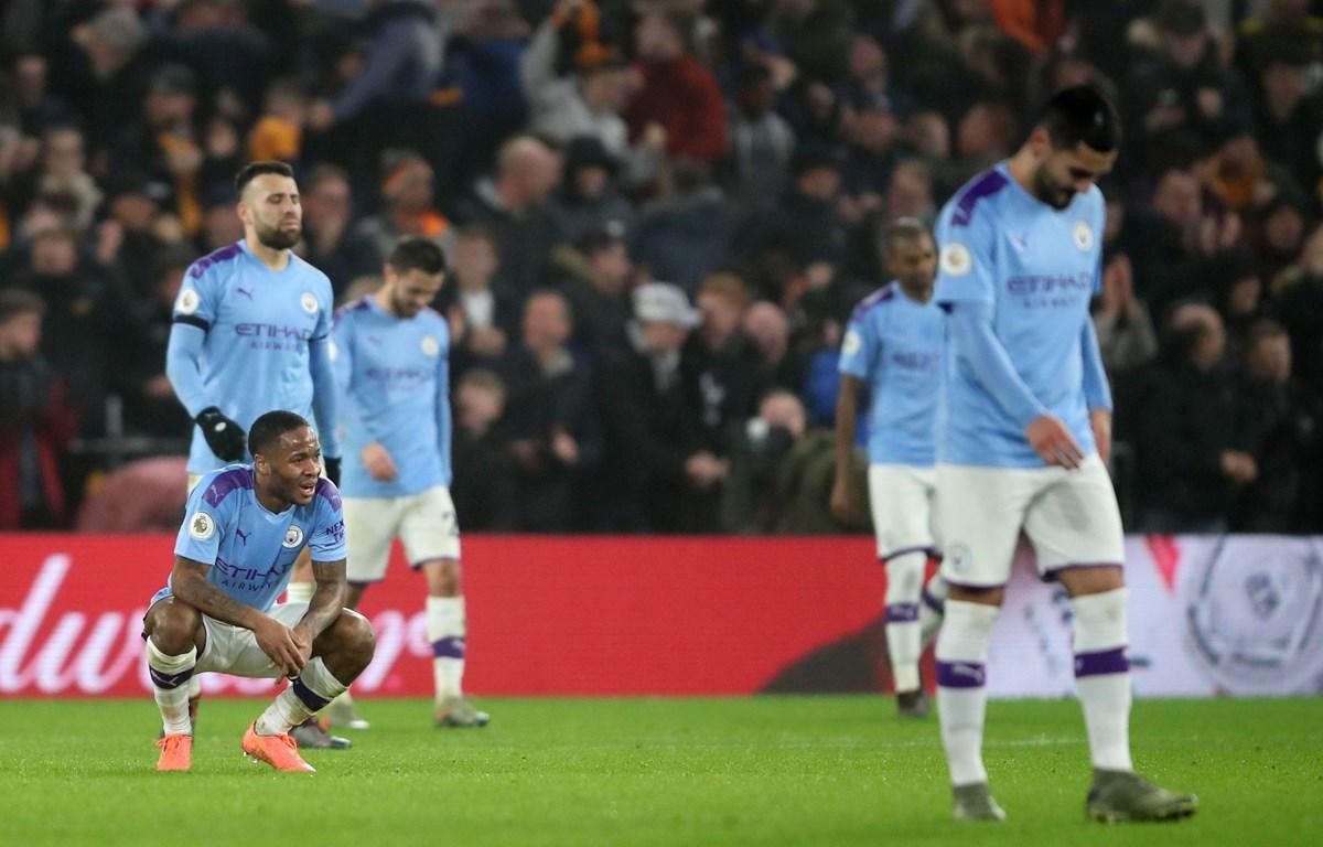 Man City thua ngược dù dẫn trước 2-0. (Nguồn: Getty Images)