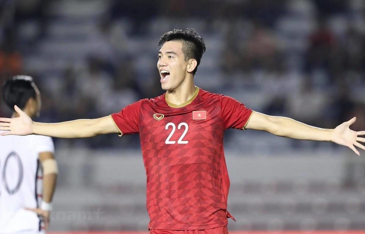 Nguyễn Tiến Linh được kỳ vọng sẽ tỏa sáng ở giải U23 châu Á 2020. (Ảnh: Vietnam+)