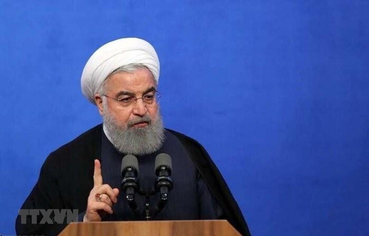 Tổng thống Iran Hassan Rouhani. (Ảnh: IRNA/TTXVN)