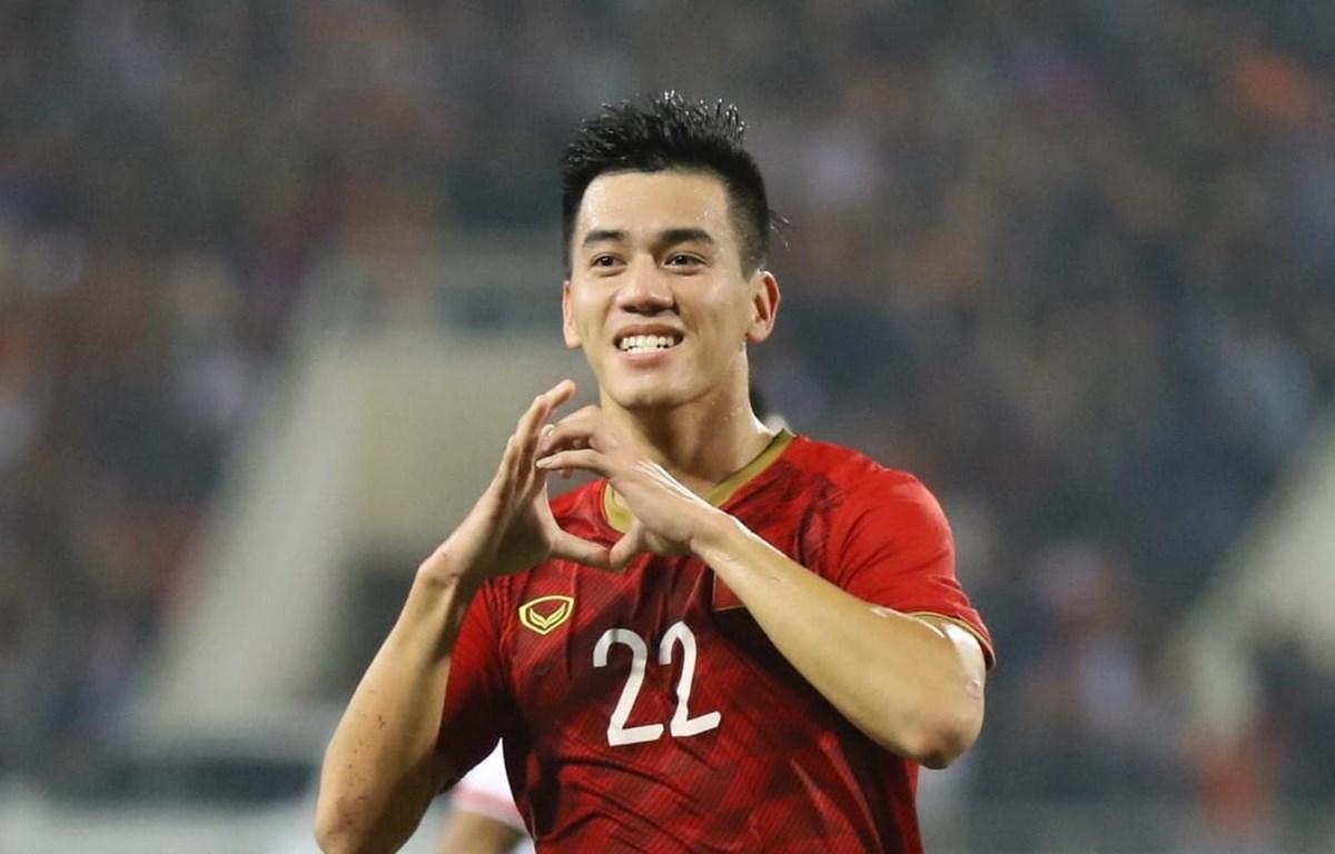 Nguyễn Tiến Linh đang có được phong độ ấn tượng. (Nguồn: AFC)