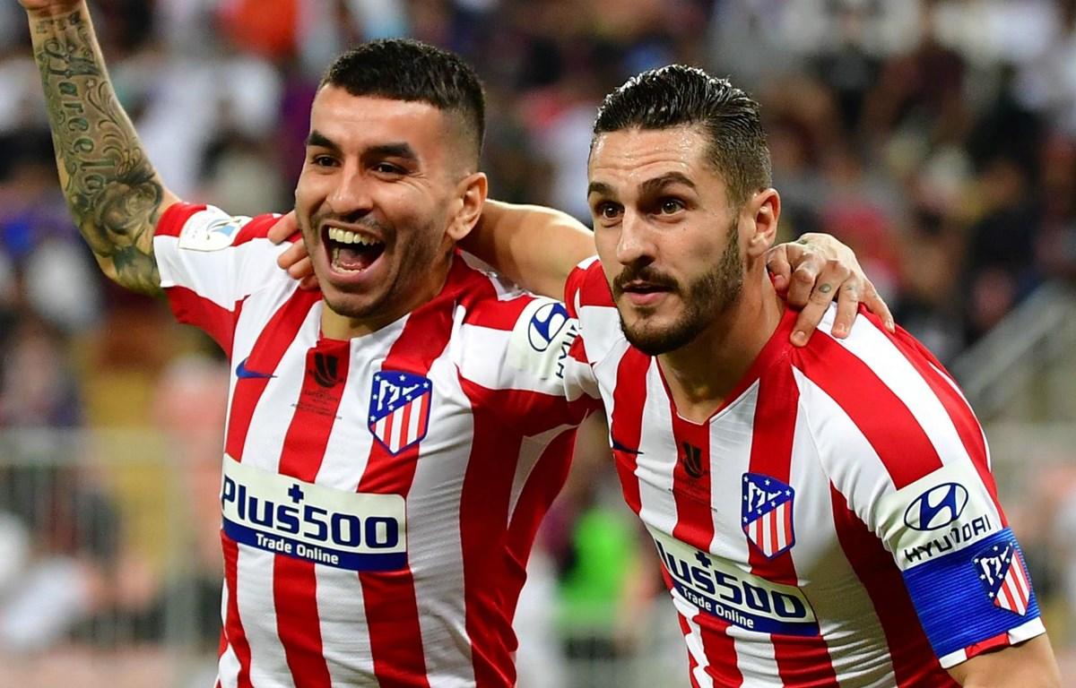 Atletico sẽ đối đầu Real ở chung kết Siêu cúp Tây Ban Nha. (Nguồn: Getty Images)