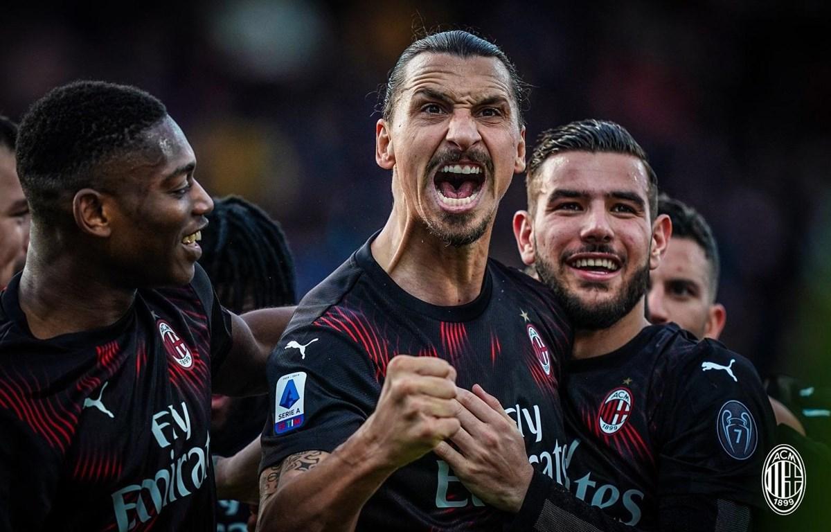Ibrahimovic (giữa) ghi bàn ở 4 thập niên. (Nguồn: Getty Images)
