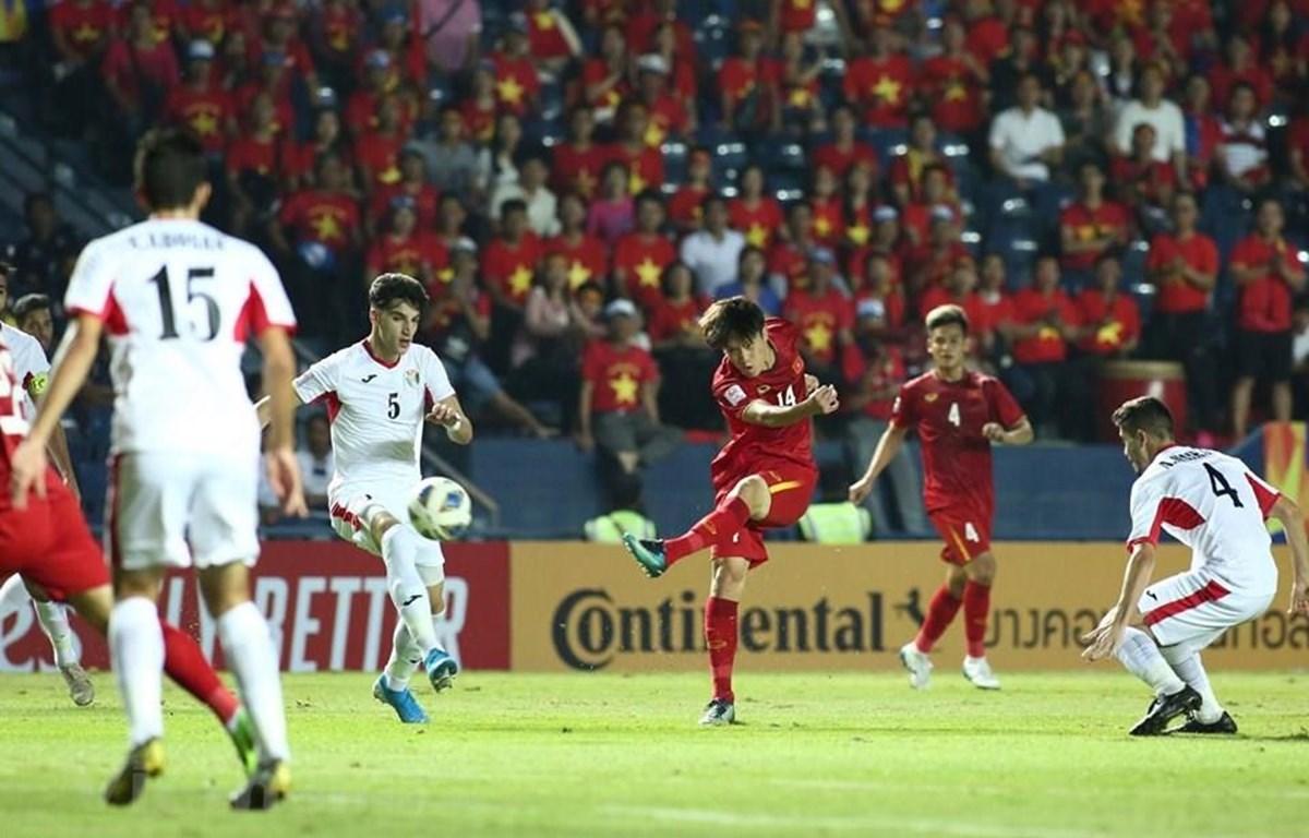U23 Việt Nam không còn nắm quyền tự quyết, nhưng trước tiên cần phải thắng U23 Triều Tiên. (Ảnh: Nguyên An/Vietnam+)