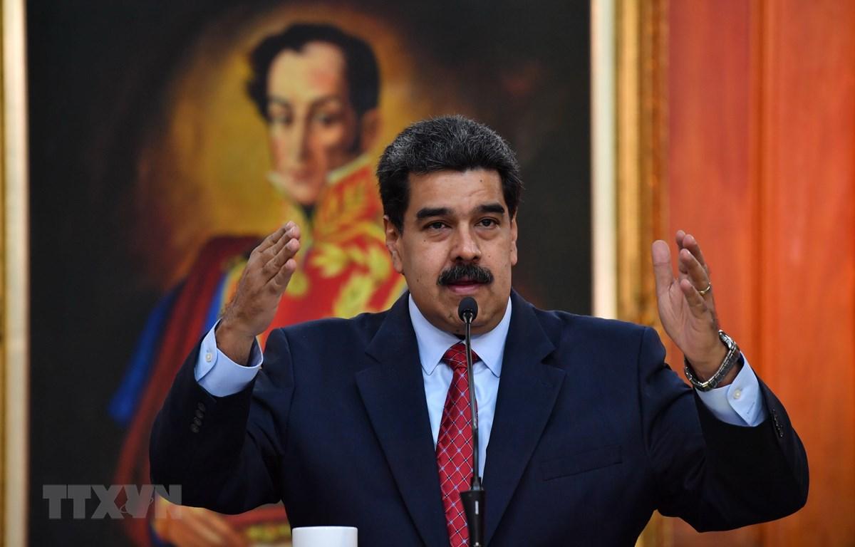 Tổng thống Venezuela Nicolas Maduro. (Ảnh: AFP/TTXVN)