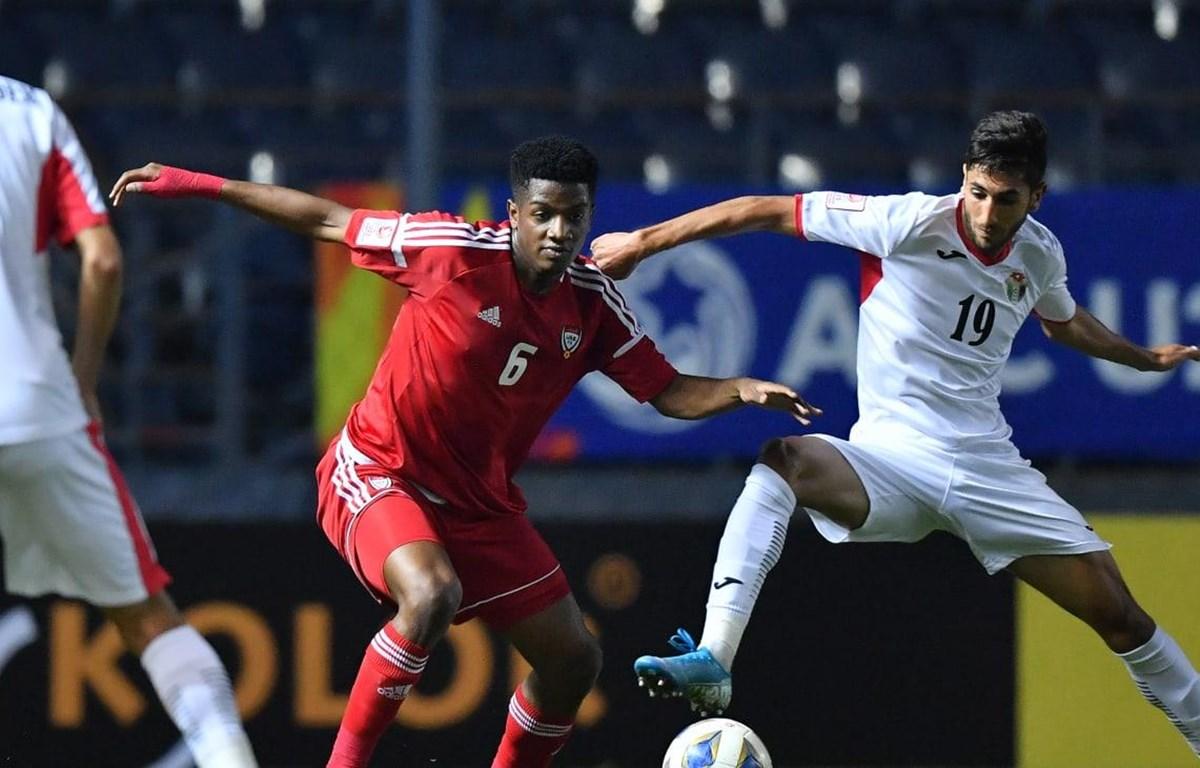 U23 UAE và U23 Jordan dắt tay nhau vào tứ kết. (Nguồn: AFC)