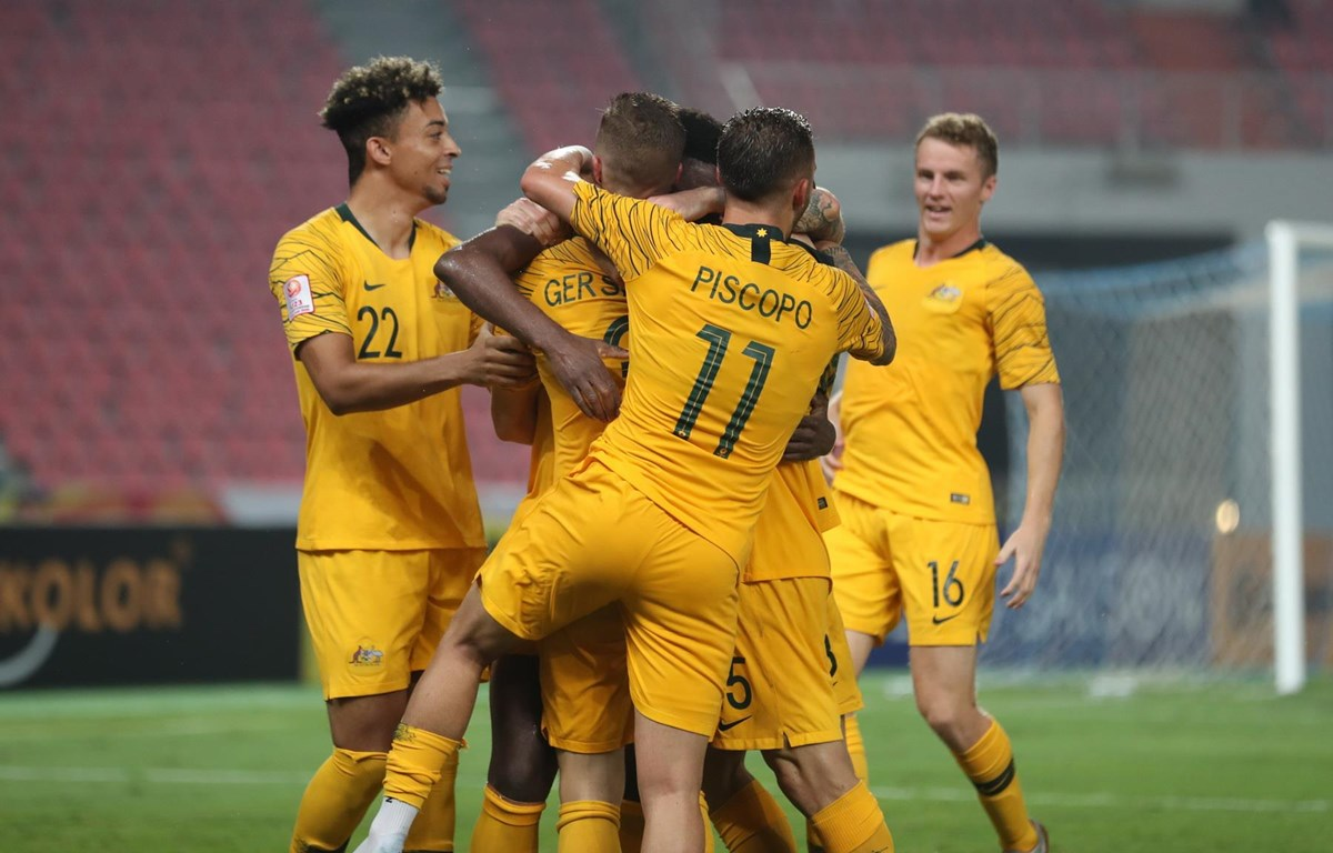 U23 Australia vào bán kết U23 châu Á 2020. (Nguồn: AFC)