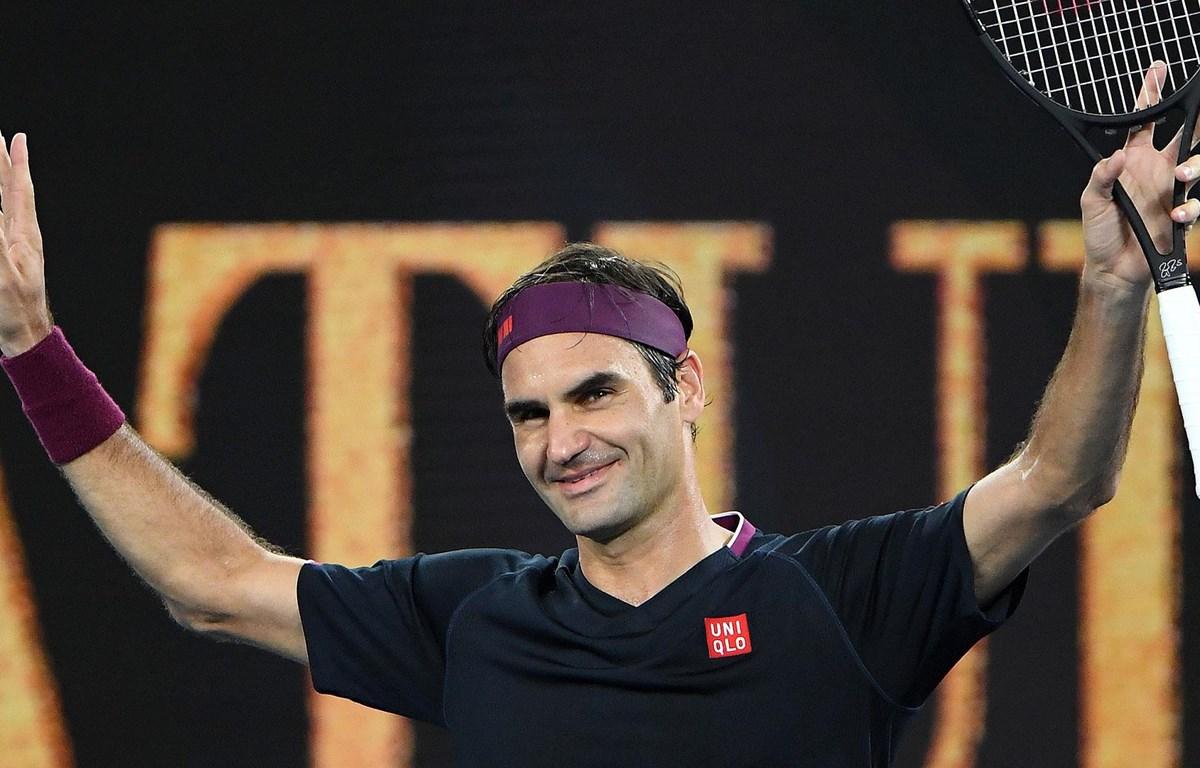Federer thẳng tiến vào vòng 2 Australian Open 2020. (Nguồn: Getty Images)