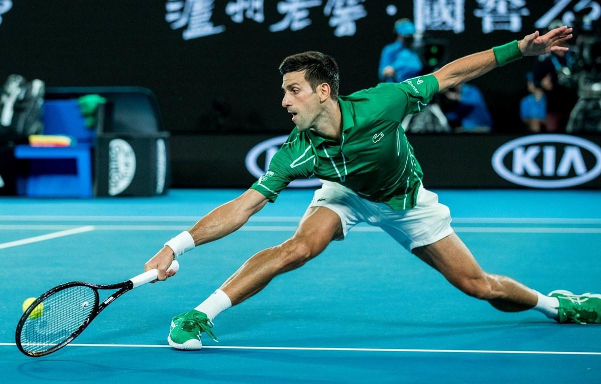 Djokovic thẳng tiến vòng 2 Australian Open 2020. (Nguồn: Getty Images)