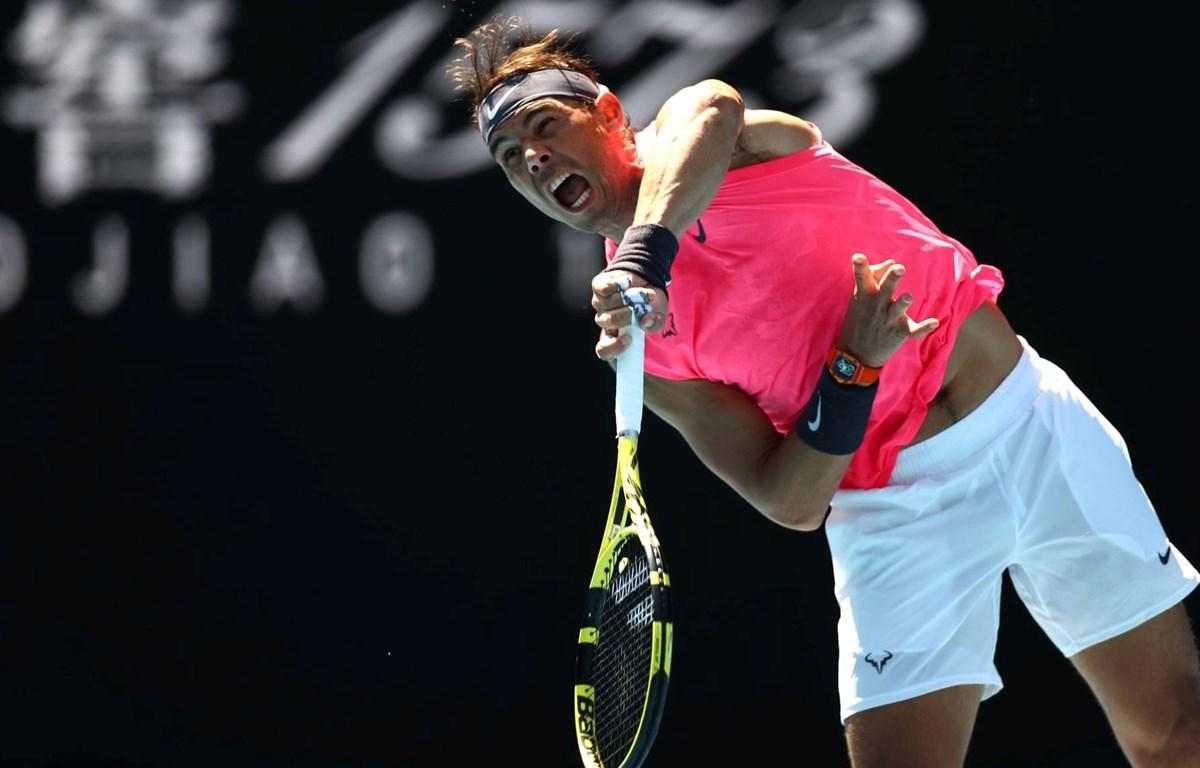 Rafael Nadal dễ dàng giành vé vào vòng 2. (Nguồn: Reuters)