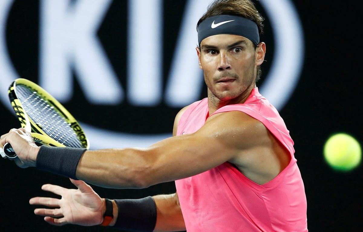 Nadal giành quyền vào vòng 4 Australian Open 2020. (Nguồn: Getty Images)