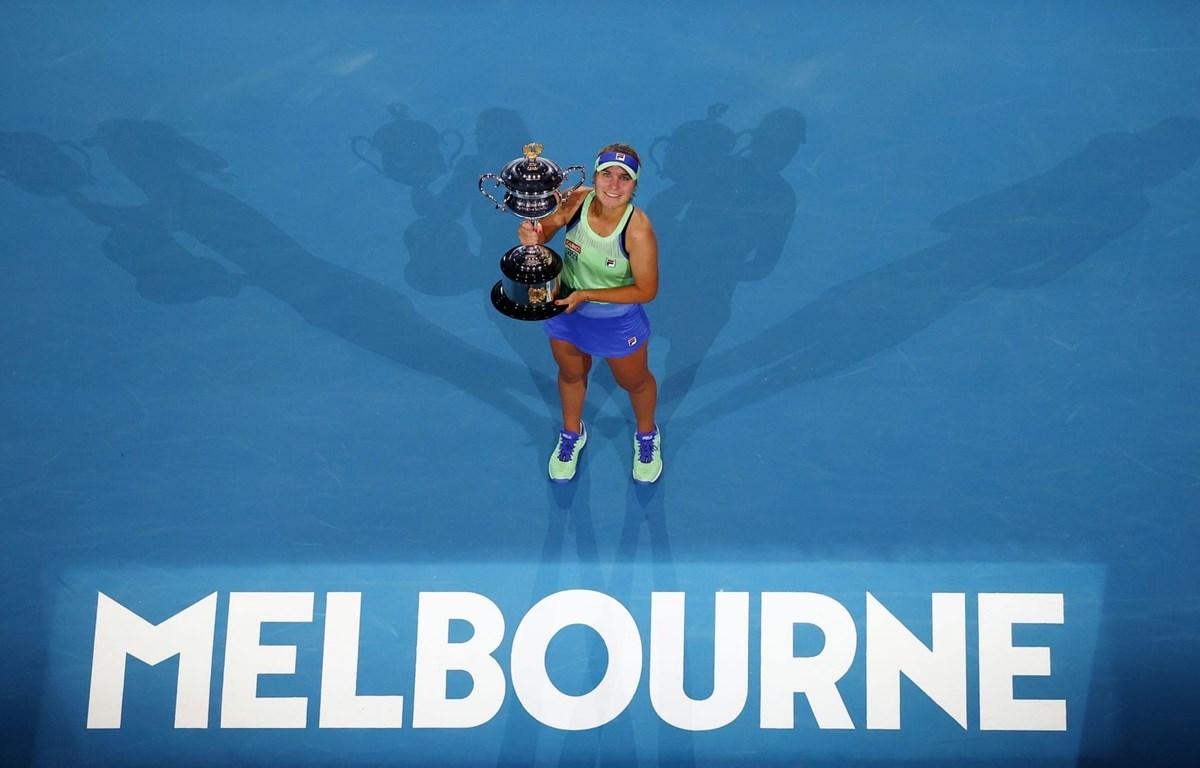 Kenin leo lên vị trí thứ 7 thế giới sau khi vô địch Australian Open 2020. (Nguồn: Reuters)