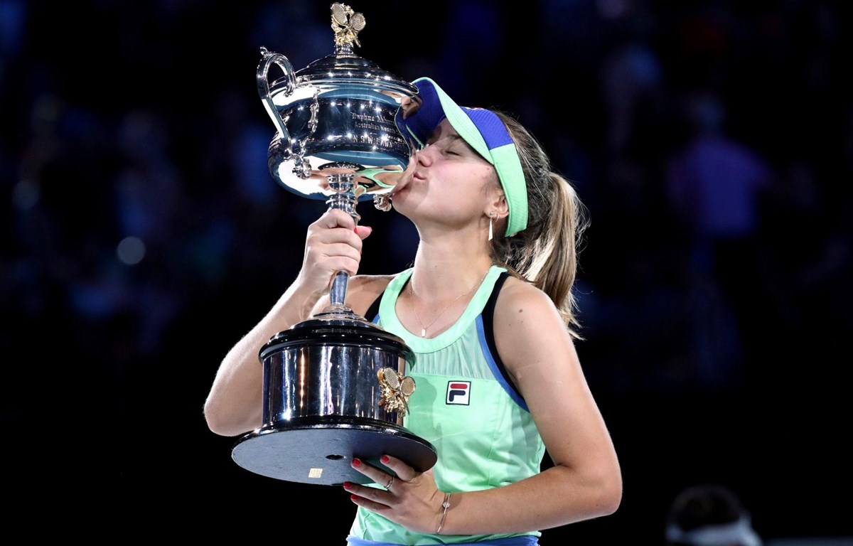 Sofia Kenin vô địch Australian Open 2020. (Nguồn: Getty Images)