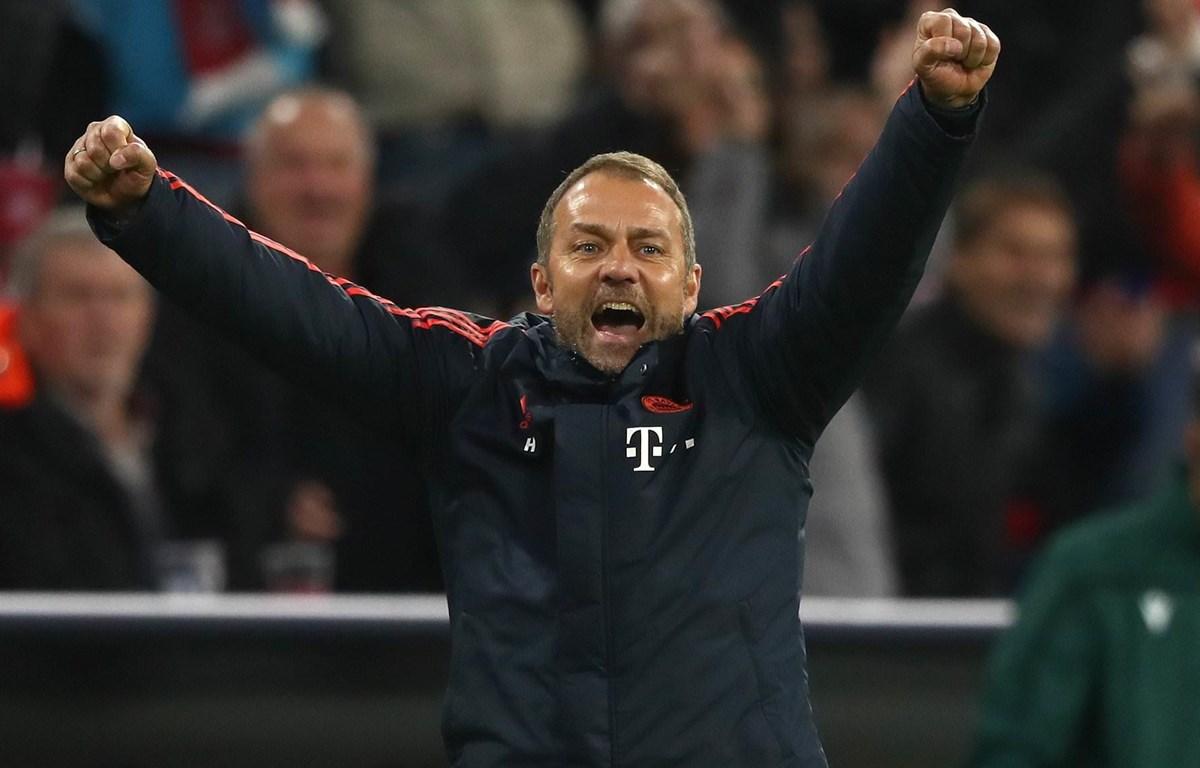 Hansi Flick đang dần tạo nên những dấu ấm riêng ở Bayern. (Nguồn: Getty Images)
