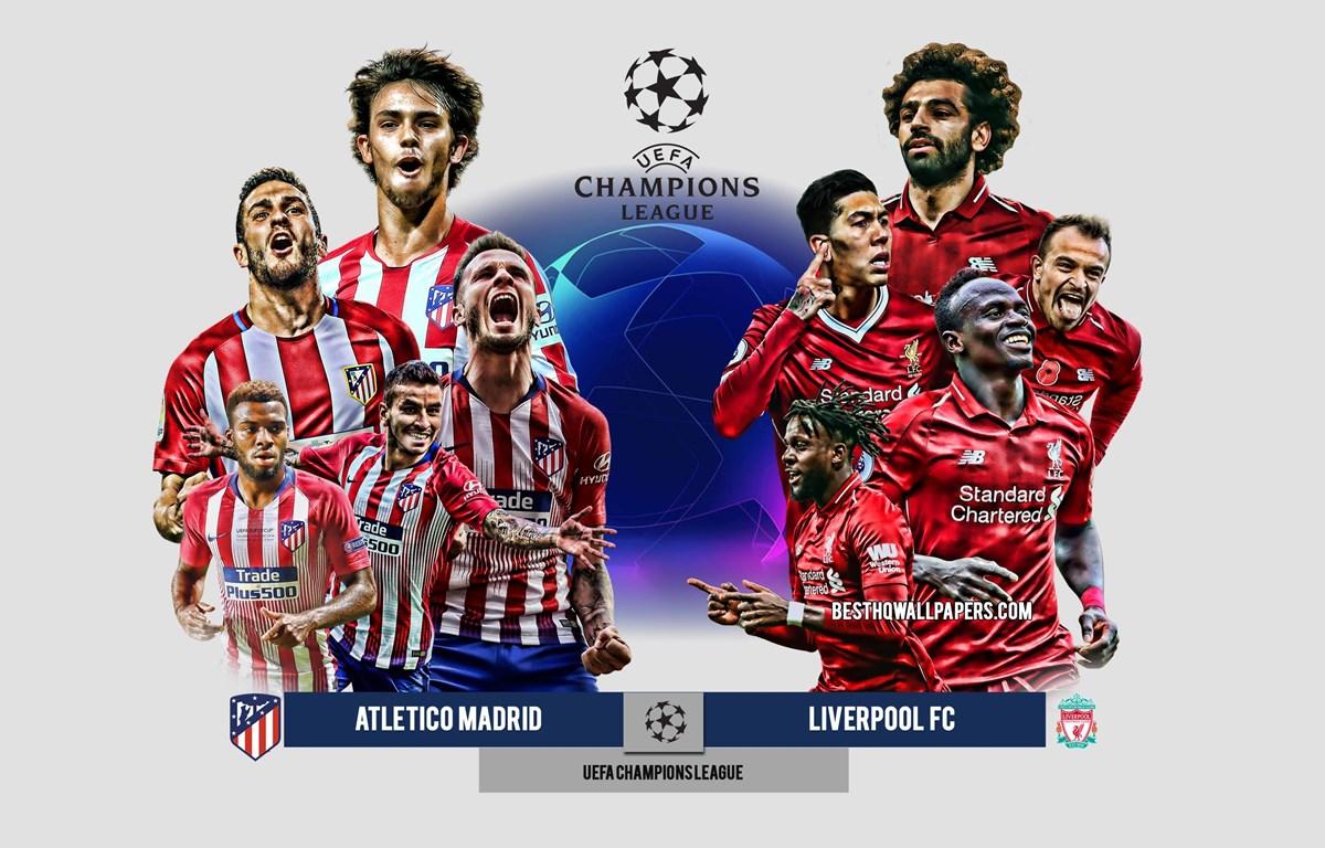Atletico tiếp đón Liverpool trên sân nhà. (Nguồn: besthqwallpapers.com)