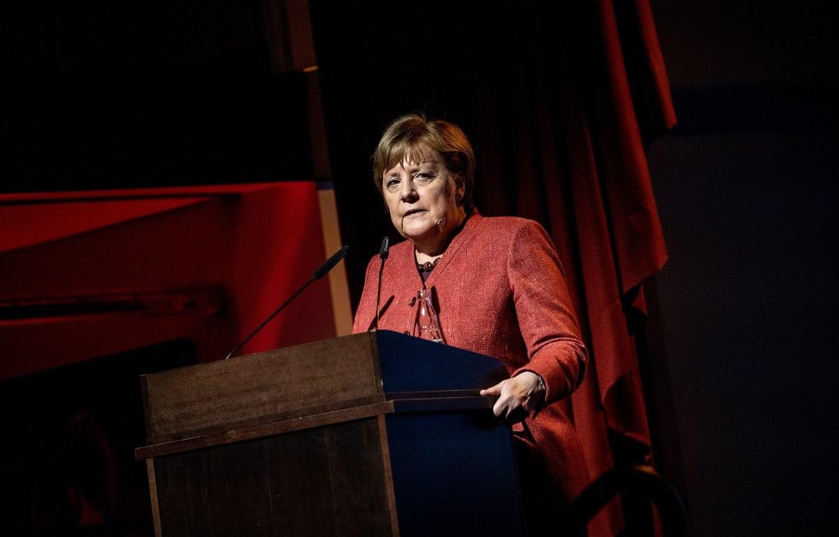 Thủ tướng Đức Angela Merkel. (Nguồn: EPA)