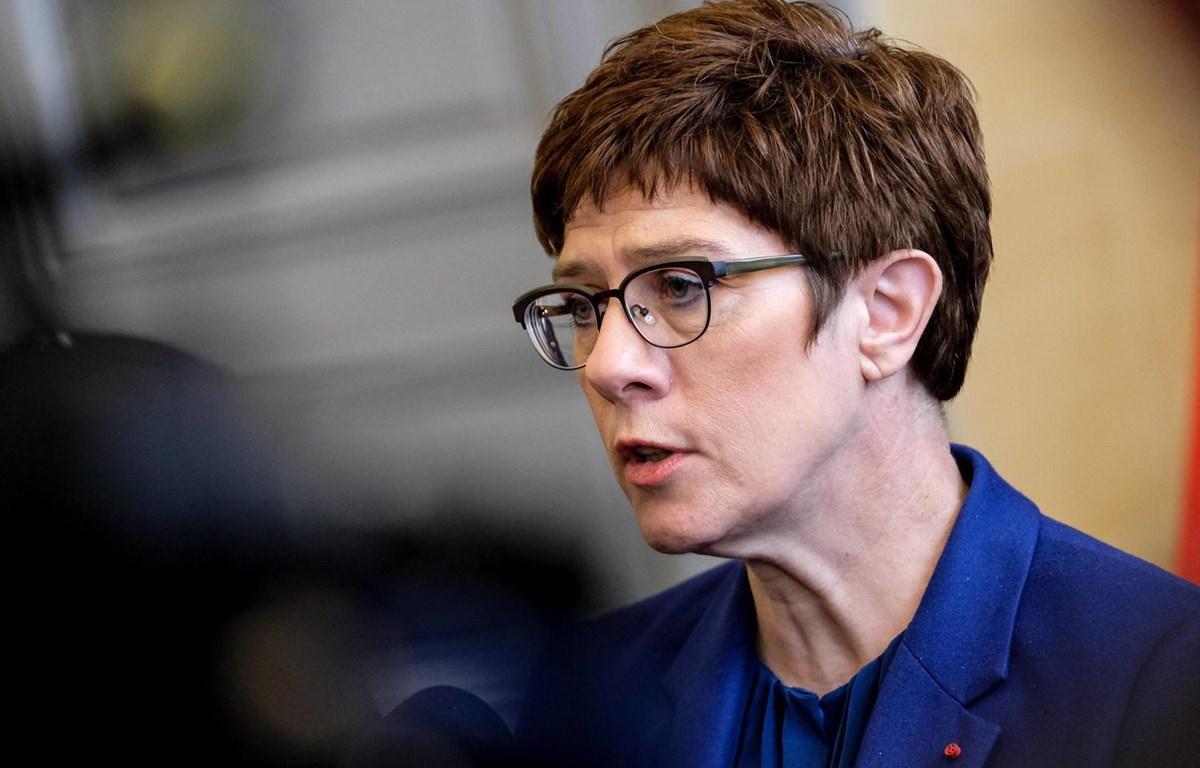 Bà Annegret Kramp-Karrenbauer sẽ công bố kế hoạch lựa chọn Chủ tịch CDU trong ngày 24/2. (Nguồn: Imago)
