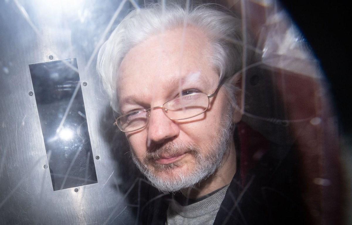 Nhà sáng lập trang mạng WikiLeaks, ông Julian Assange. (Nguồn: Sky)