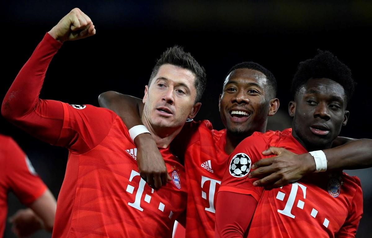 Bayern coi như đã nắm vé đi tiếp vào vòng tứ kết Champions League. (Nguồn: Reuters)